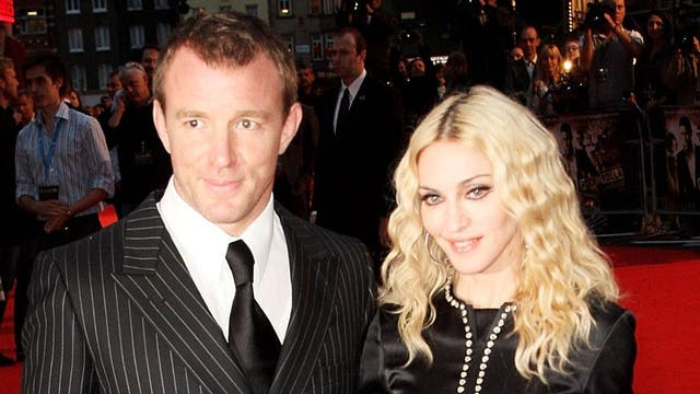 Madonna and Guy Ritchie filed for divorce in 2008