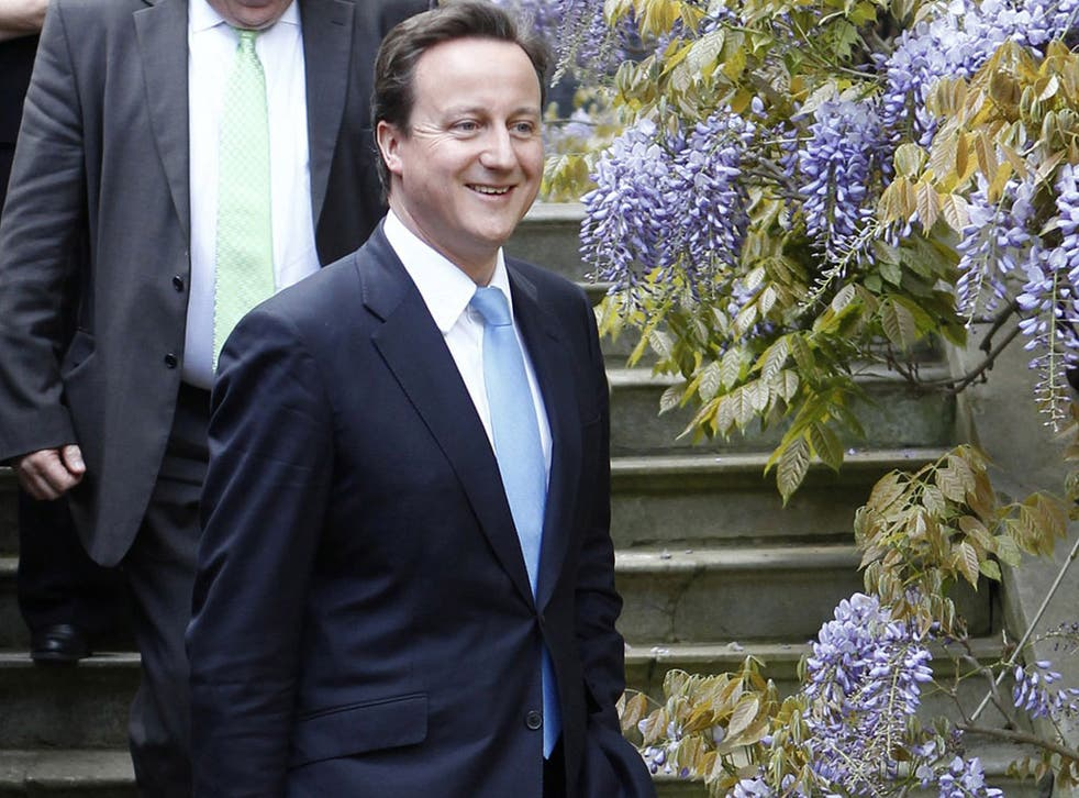Mr Cameron was wrong to compare gardening with activities such as litterpicking, says Titchmarsh