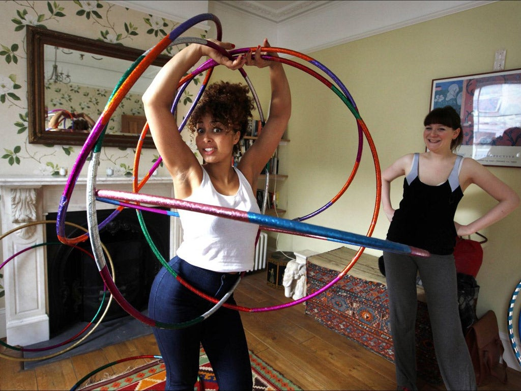 The power of spin  Hula hoop your way to happiness   The Independent