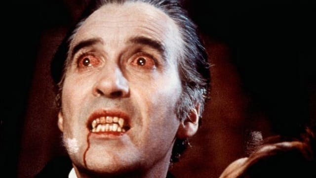 Drac attack: Christopher Lee in Dracula AD1972
