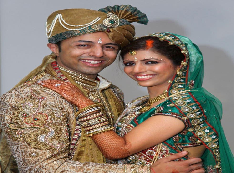 Shrien and Anni Dewani at their wedding