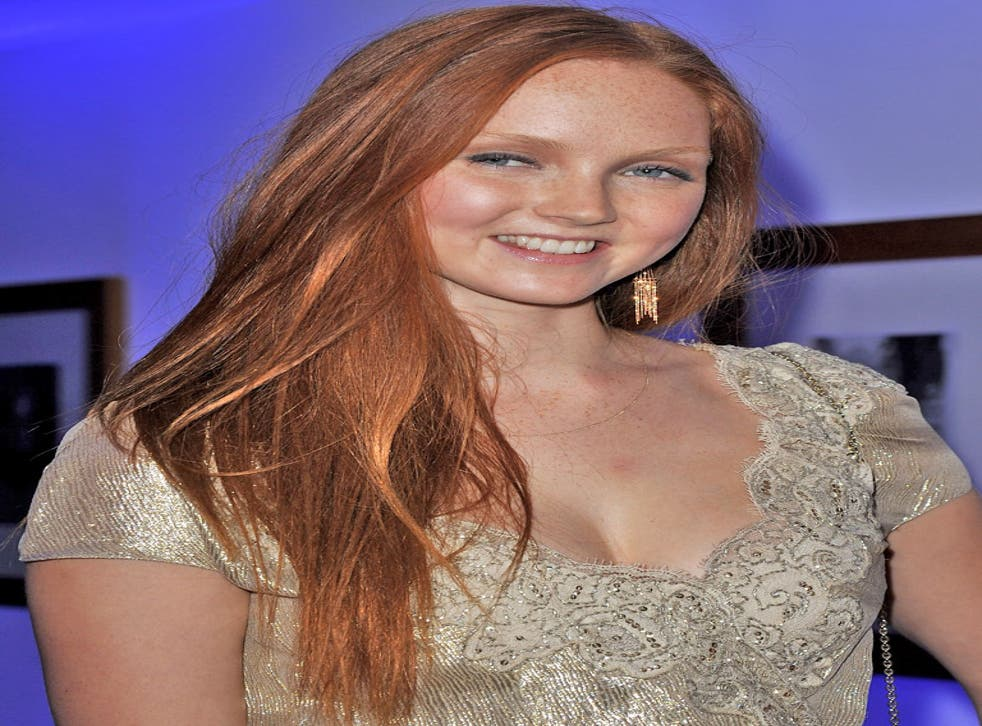 £8m: Actress and model Lily Cole