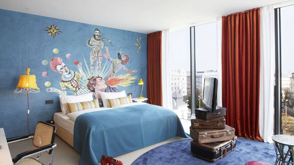 24-hour room service: 25hours Hotel, Vienna | The Independent