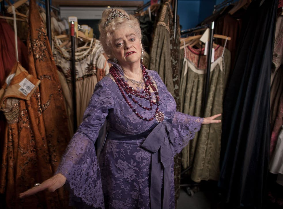 Strictly Opera: Ann Widdecombe during rehearsals for La Fille du régiment last week
