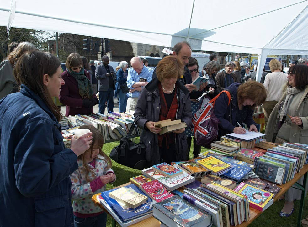 Book signing: Readers show they care yesterday in Barnet, north London