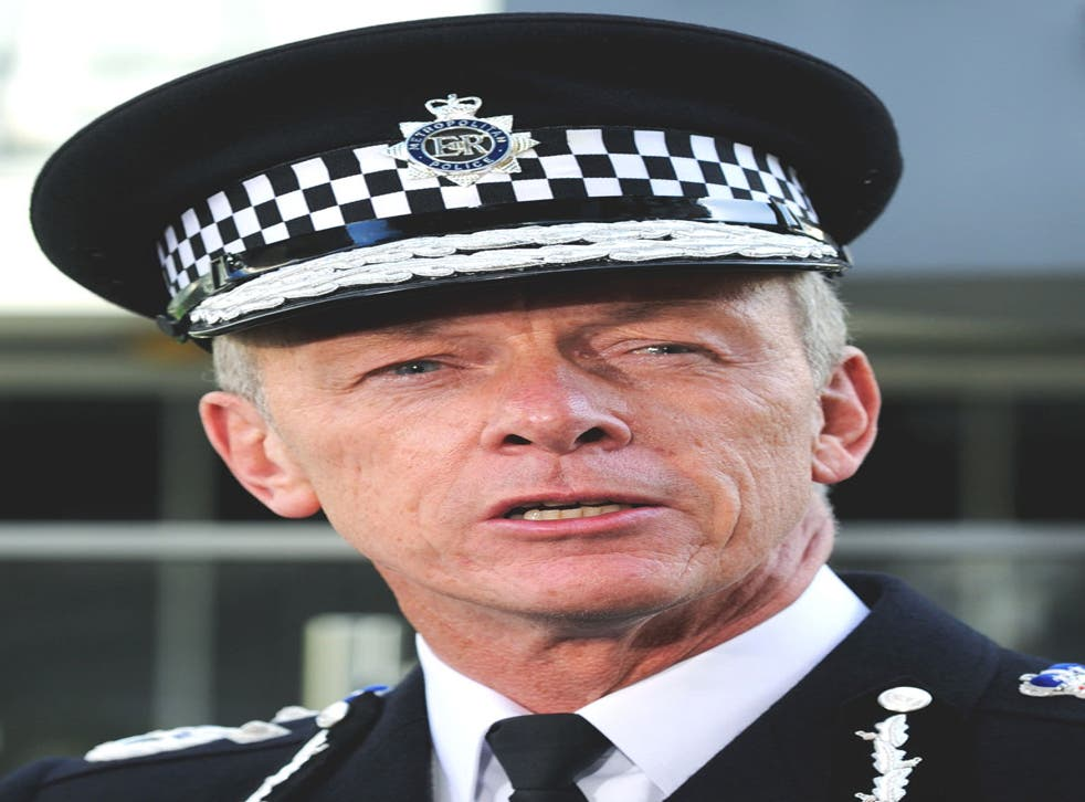 Sir Bernard Hogan-Howe will be questioned by a Commons committee