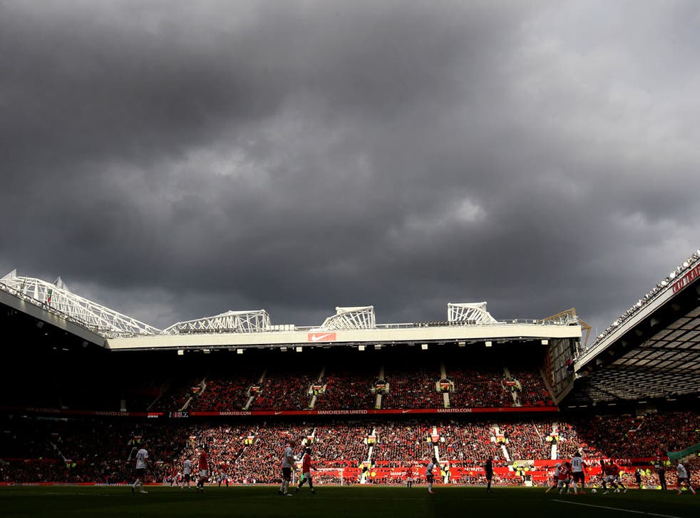 United fans have sometimes been criticised for the lack of noise at Old Trafford