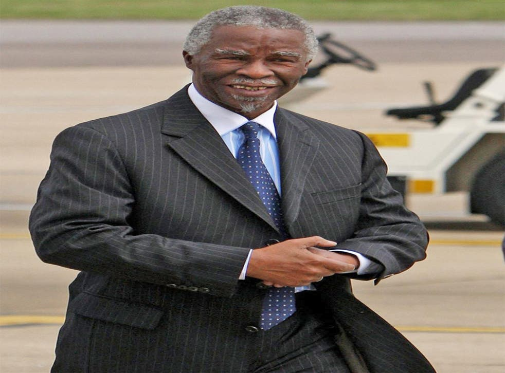 Thabo Mbeki, the former South African President,