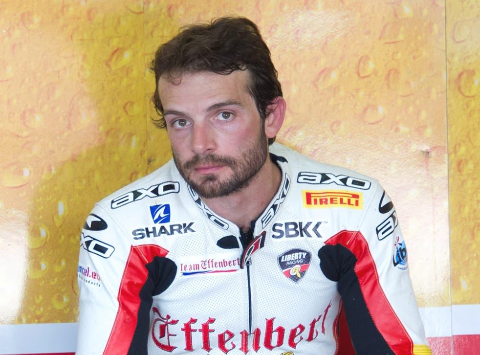 Sylvain Guintoli of France and Team Effenbert