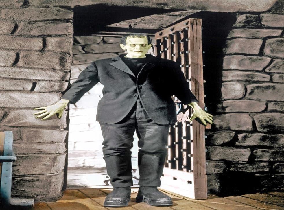 Boris Karloff in the 1931 film version of 'Frankenstein'