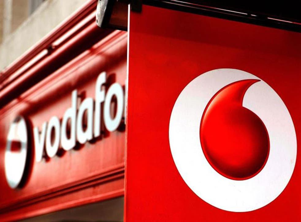 Mobile phone giant Vodafone was today poised to complete one of the biggest deals in corporate history