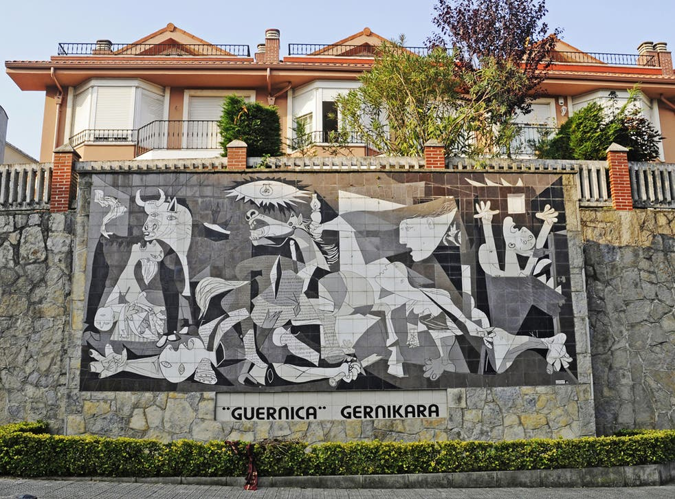 Picture perfect: a mural of Picasso's work