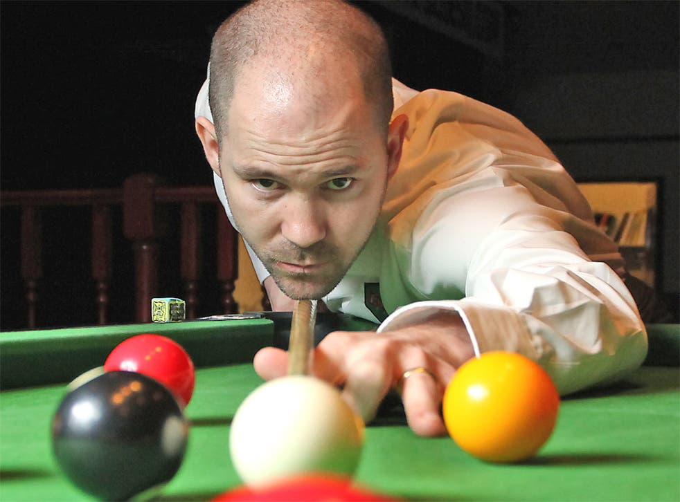 Carl Morris at a Shepherd's Bush pool hall. His charity work has been truly inspirational