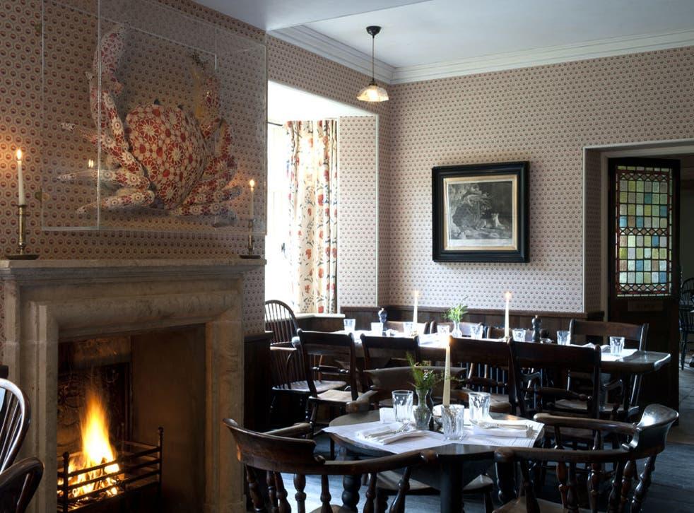The Gunton Arms is a labour of love for its owner, London art dealer Ivor Braka