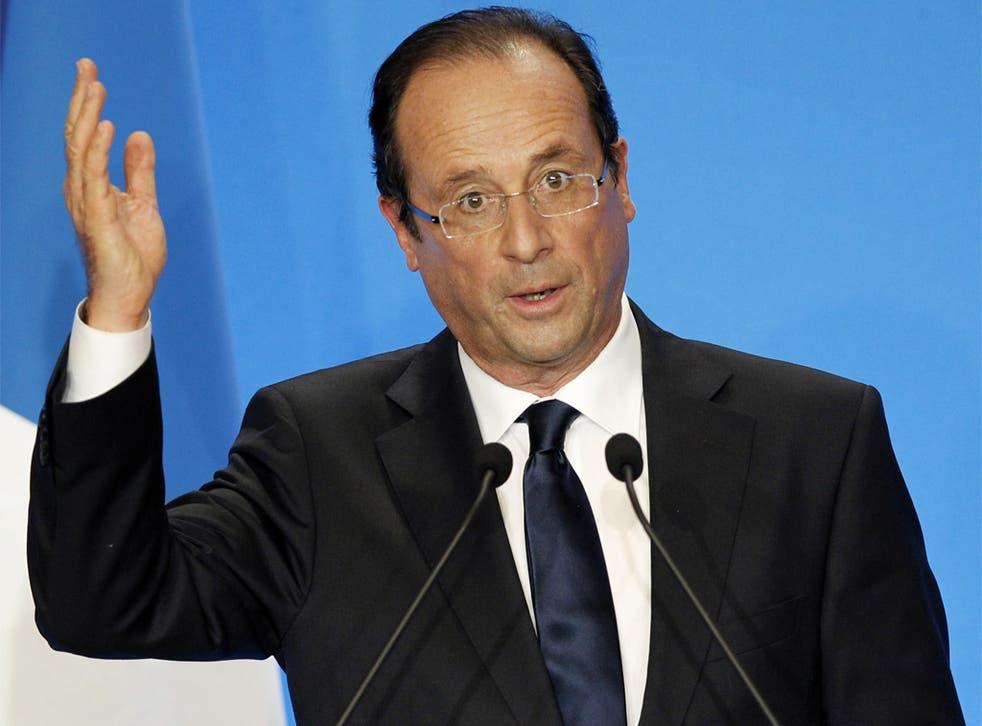 François Hollande promises to be a 'normal president'
