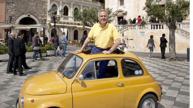 Vintage style: Stephen Bayley and his Fiat 500