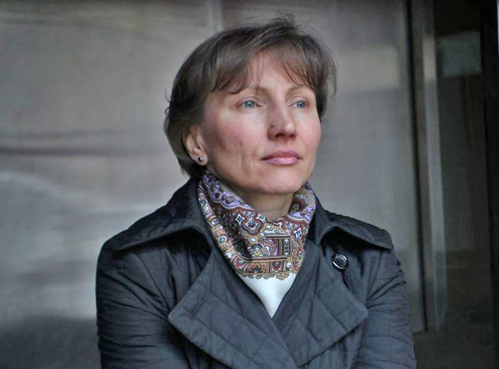 A thoughtful Marina Litvinenko considers what the future holds
