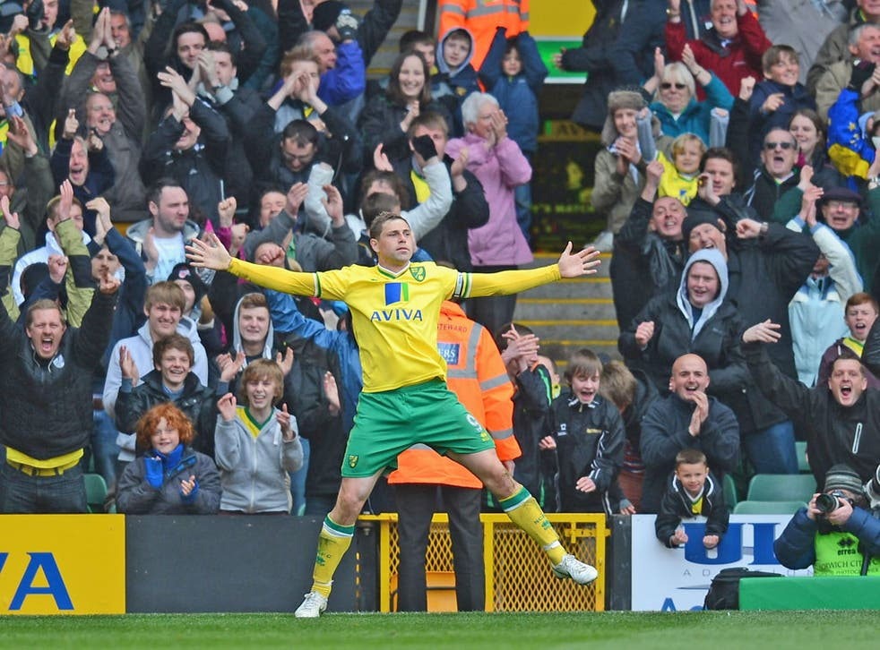 Yellow fever: Norwich City's Grant Holt is my player of the season, and his manager Paul Lambert is the top boss