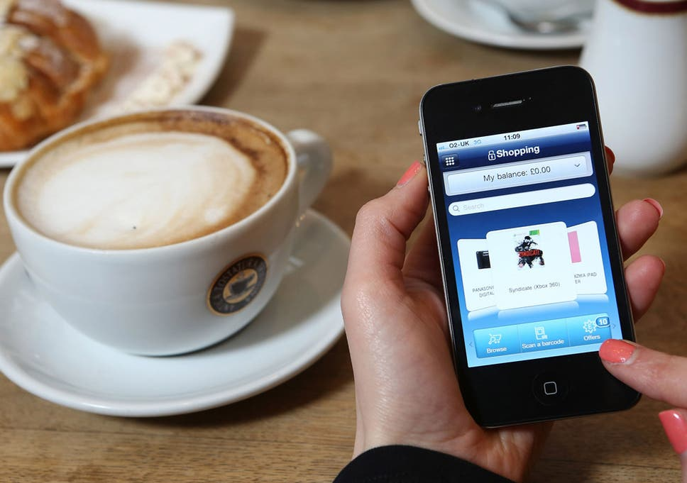 Taking a mobile and a wallet to the shops? | The Independent