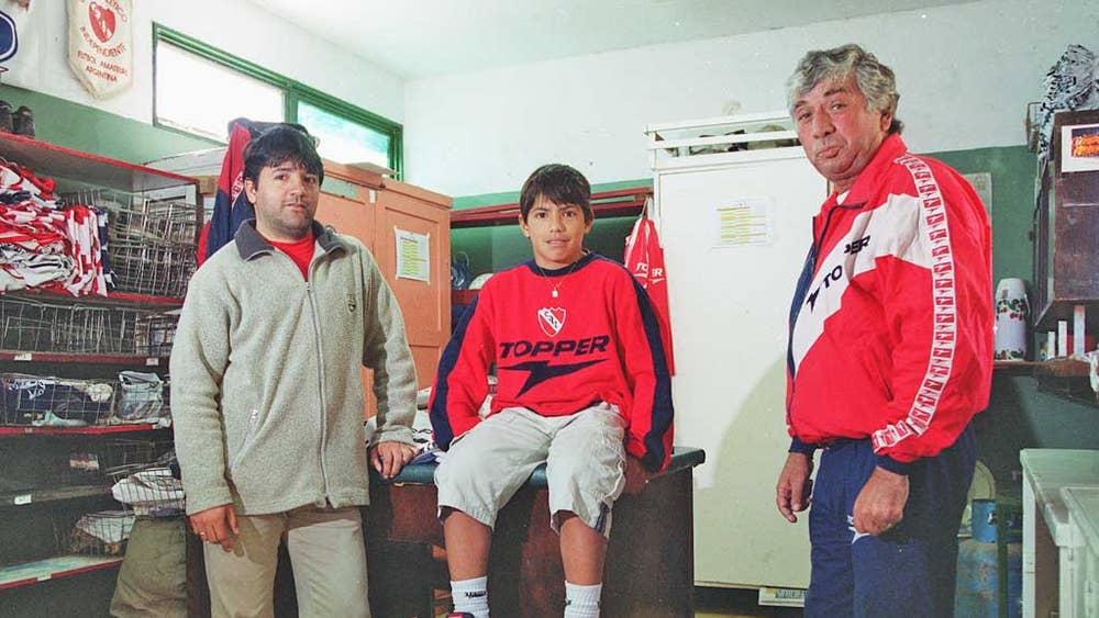 Picture of Sergio Aguero Father, called Leonel del Castillo