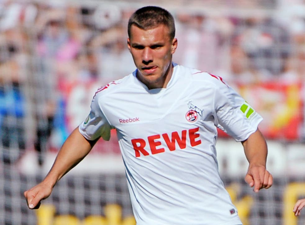 Lukas Podolski has enjoyed a prolific season with Cologne