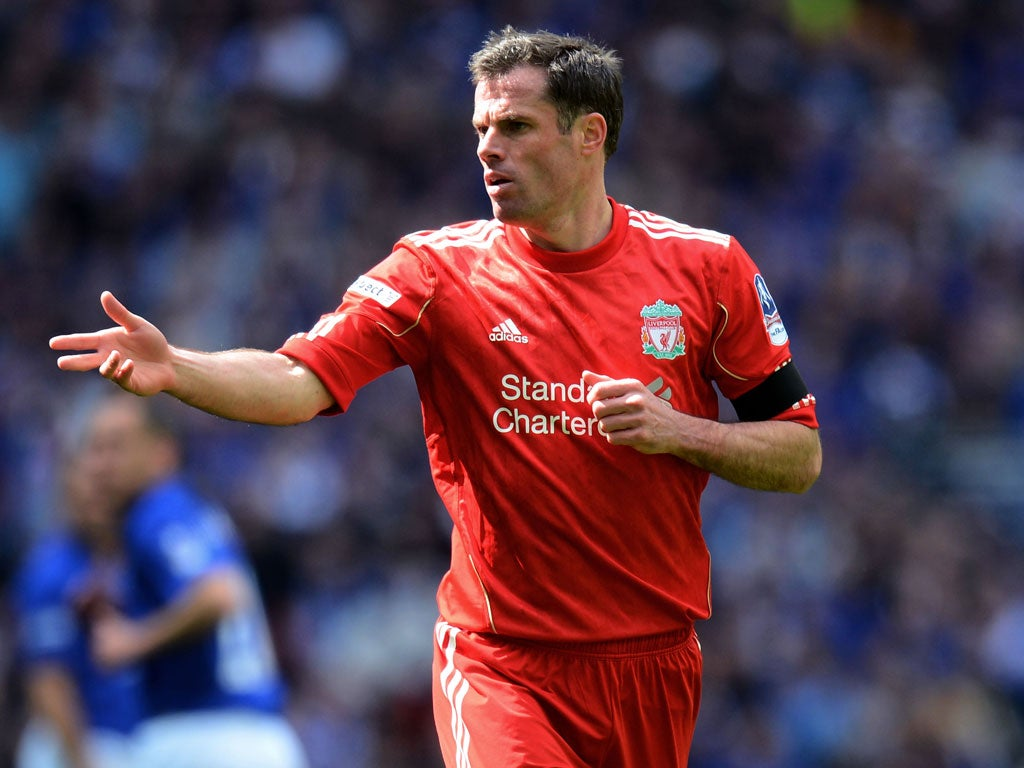 Liverpool defender Jamie Carragher says rivalry with ...