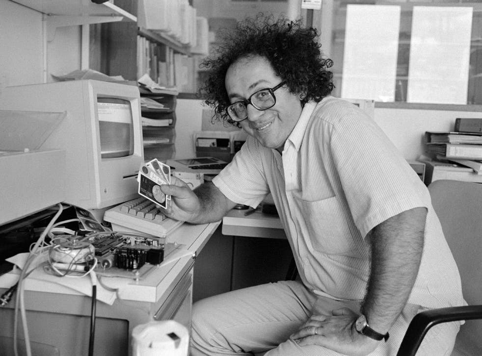 Moreno in 1984: he admitted that his smart card could become 'Big Brother's little helper'