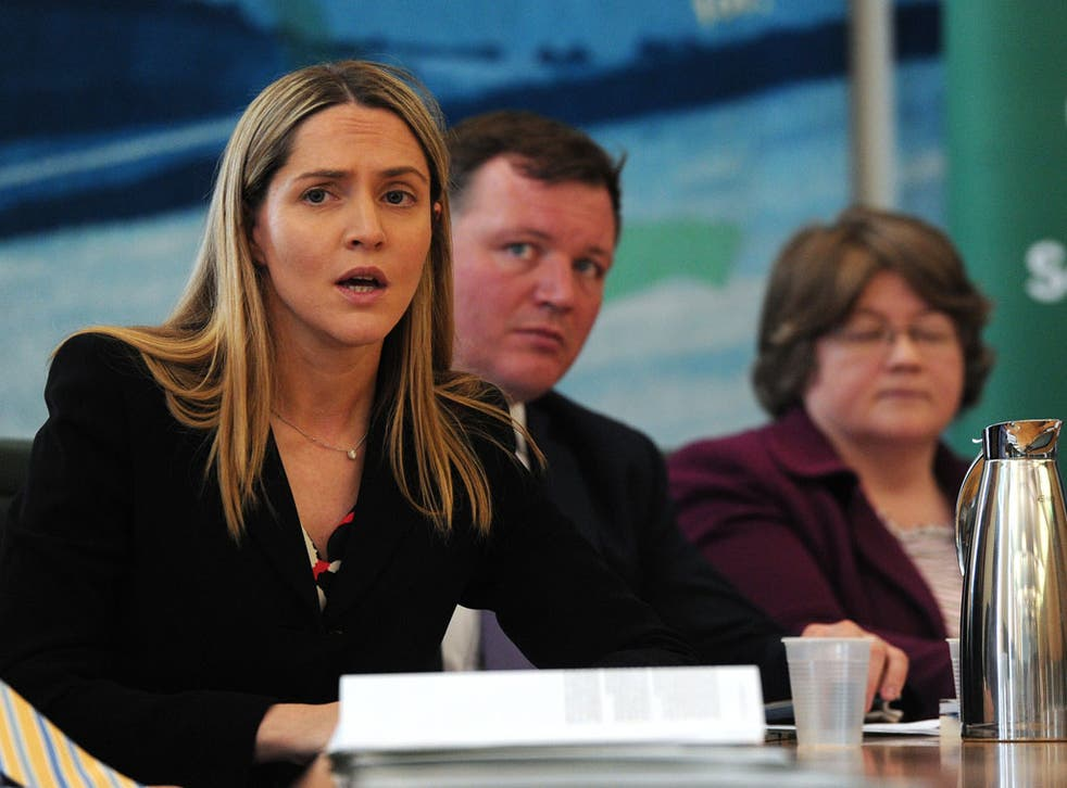 A Tory with cross-bench instincts: Louise Mensch MP at a press conference on the Commons phone hacking report this week