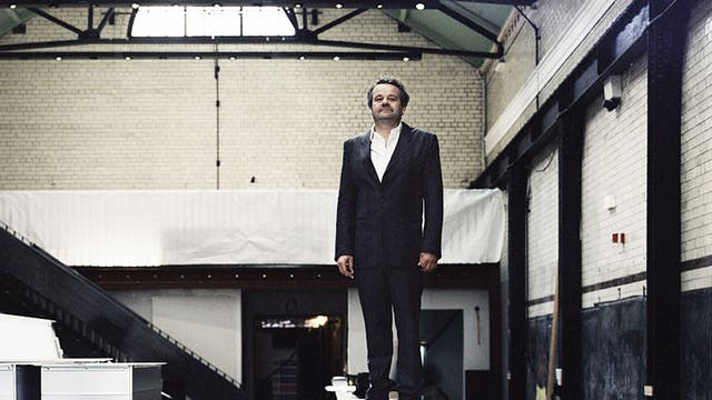 Mark Hix, photographed in his soon-to-open London restaurant, The Tramshed