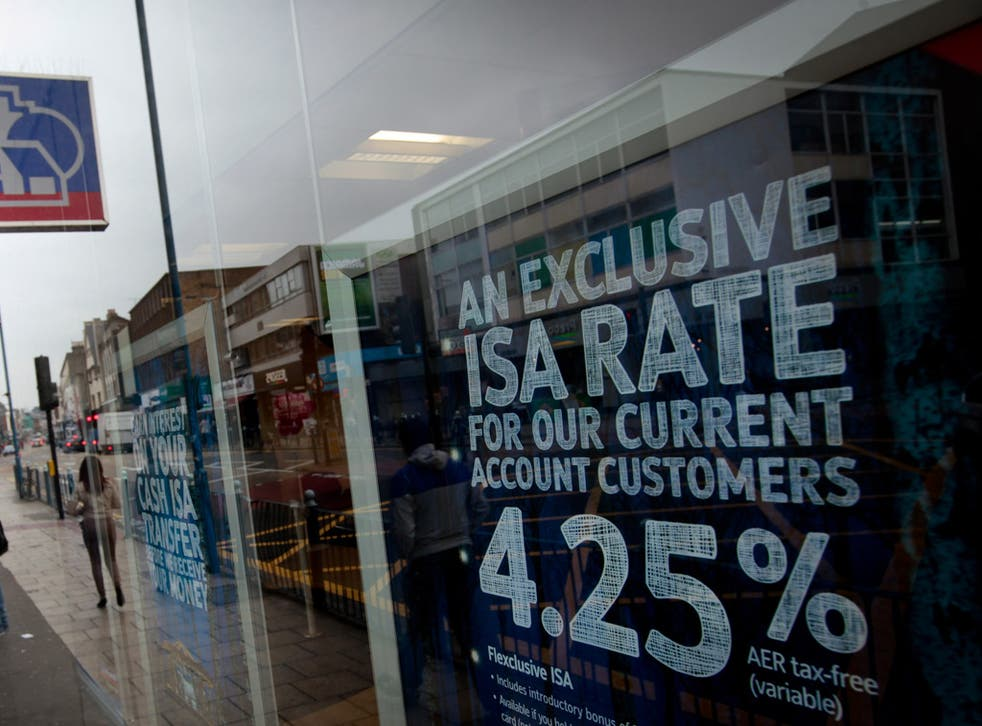 The Nationwide's best ISA rate is only available to current customers