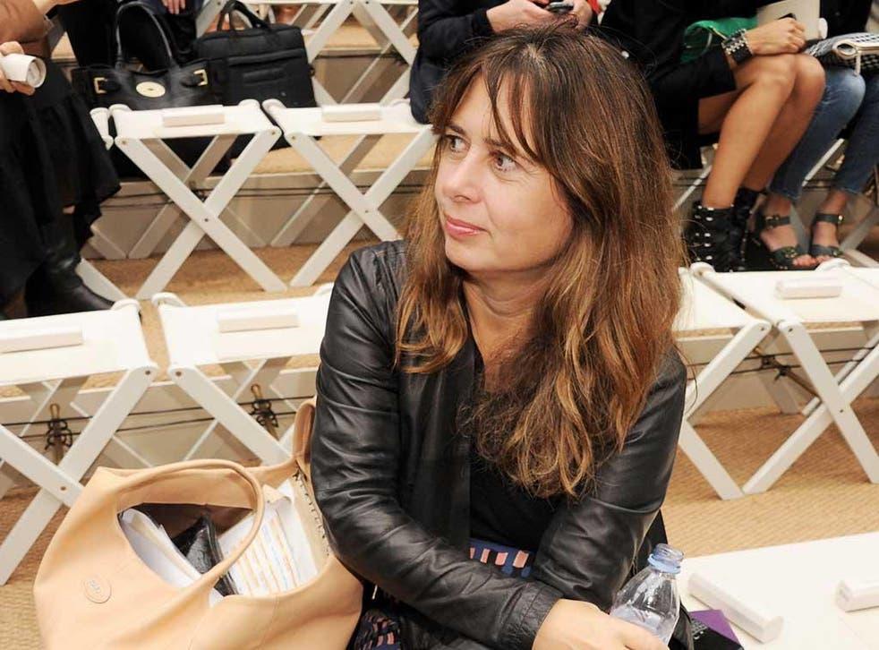Alexandra Shulman of British magazine 'Vogue'
