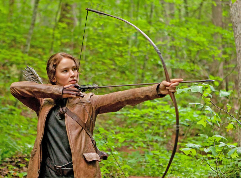Katniss Everdeen, as played by Jennifer Lawrence, is a hero for girls and boys