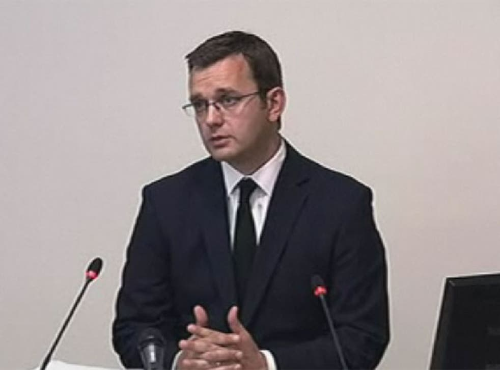 David Cameron's former spin doctor Andy Coulson today dismissed rumours that he kept a potentially explosive diary of his time in the job