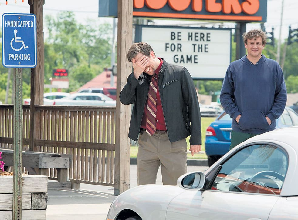 Oh, brother: Ed Helms (left) and Jason Segel shine in Mark and Jay Duplass's family comedy 'Jeff, Who Lives at Home'
