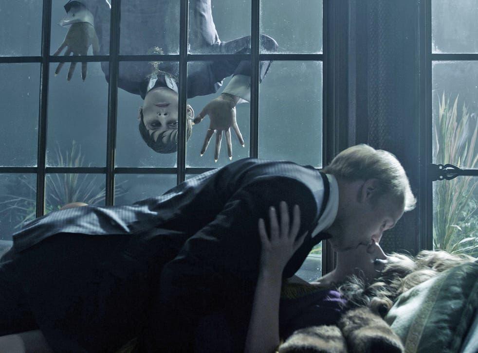 Johnny Depp plays 200-year-old vampire Barnabas Collins in Dark Shadows