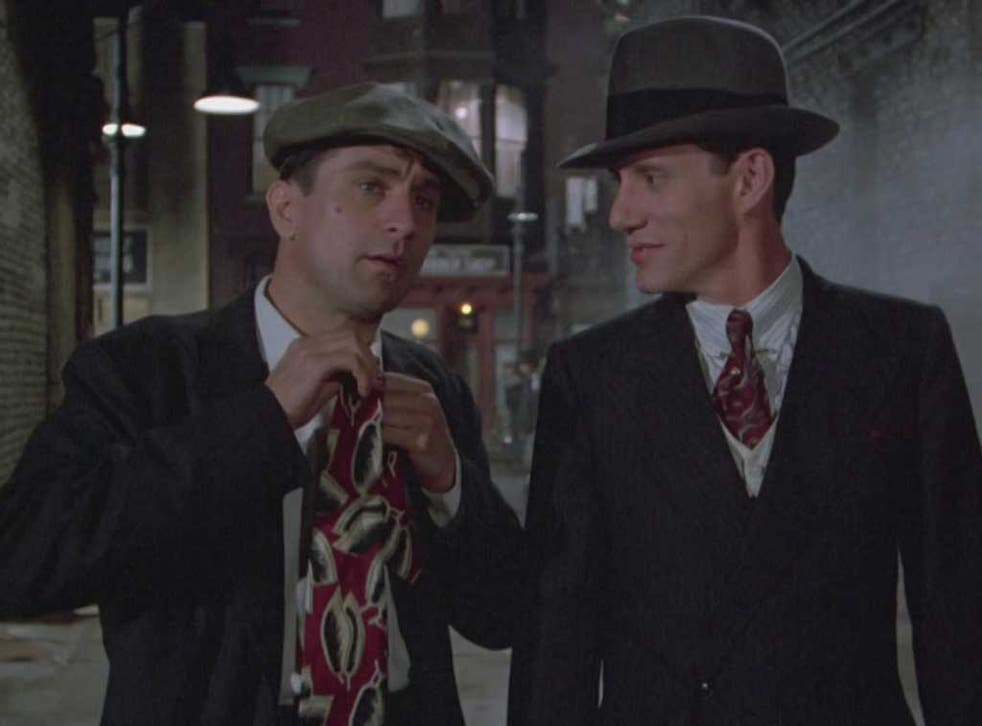 Wise guys: Robert De Niro and Christopher Walken in Sergio Leone's 'Once Upon a Time in America'