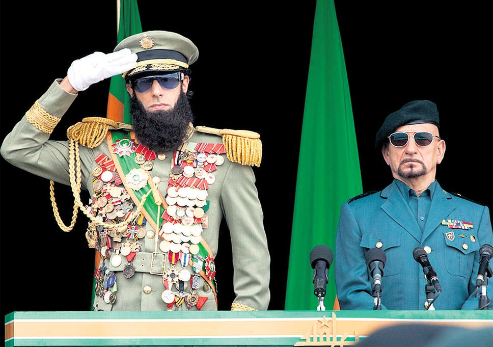 Tyrant Sacha Baron Cohen And Ben Kingsley Star In The Comedy The Dictator