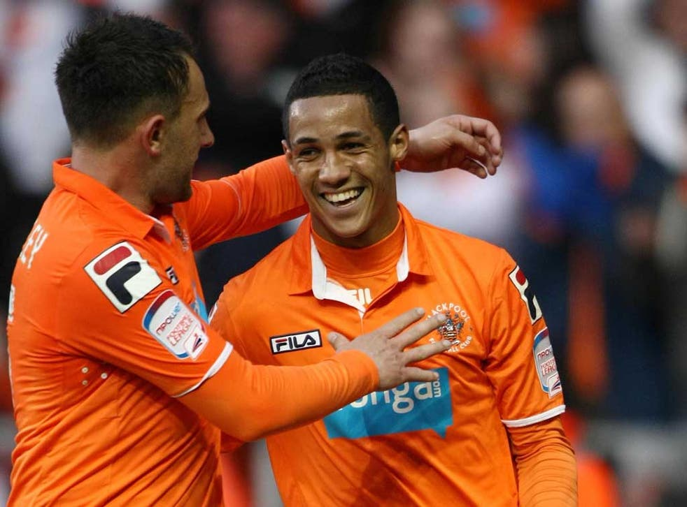 Tom Ince's (right) speed and skill has worried Championship defences