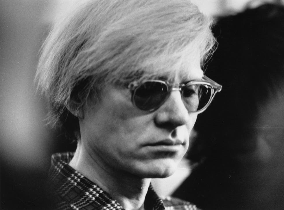 The exhibition features Warhol's 'Invisible Sculpture', which is an empty plinth which, he once briefly stepped on.