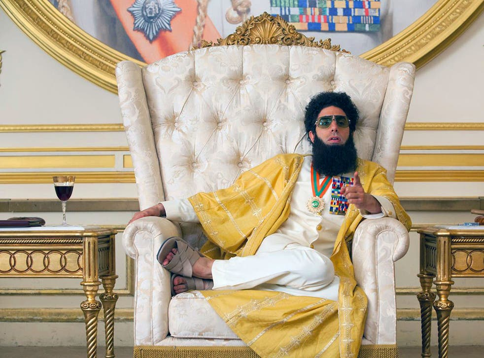 Baron Cohen shows in <i>The Dictator</i> that he can be just as taboo-tramplingly entertaining when scripted