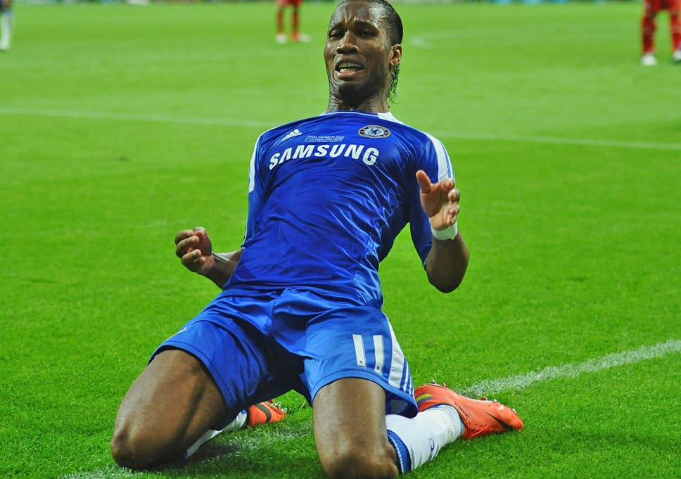 competitive price 0b7b4 82239 Didier Drogba returns to Chelsea: The Ivorian striker's ...