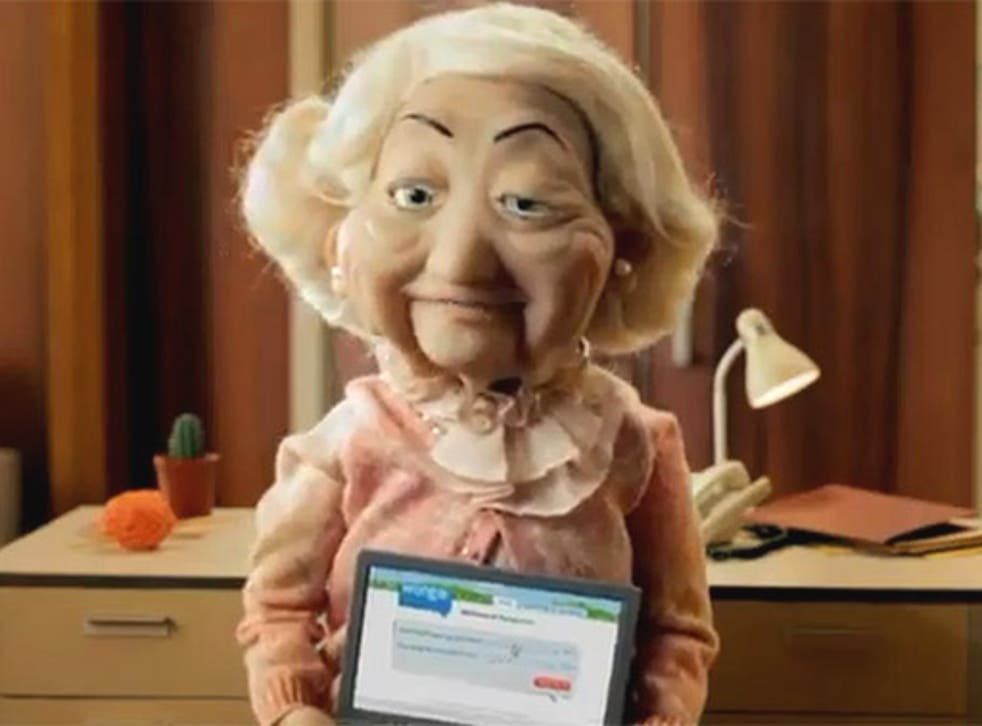 Wonga adverts feature puppet pensioners