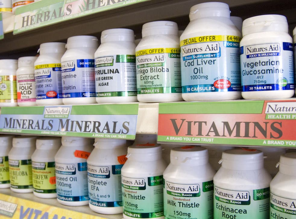 Health supplements are not necessarily beneficial to its user