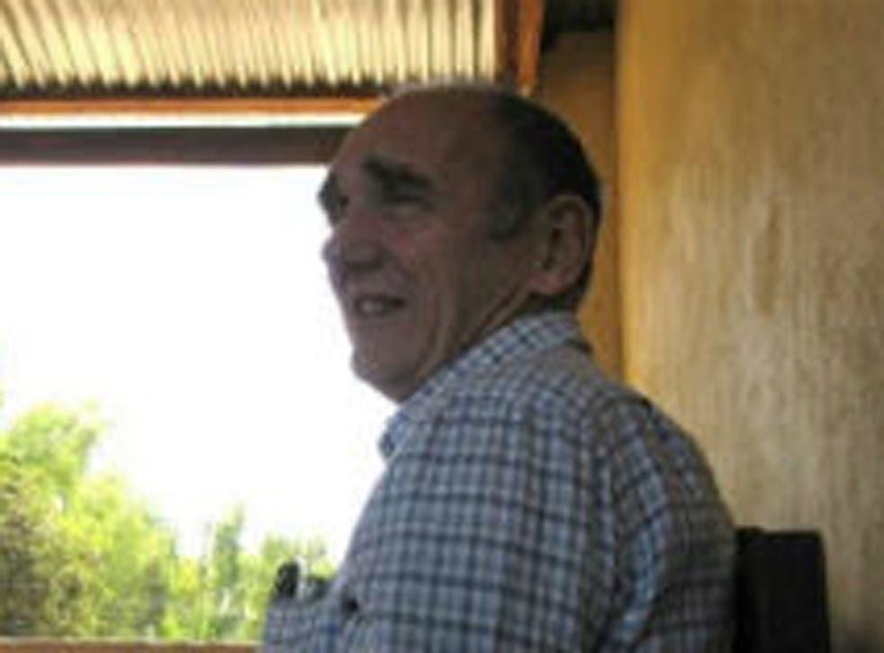 Overseas development worker Harold Potter