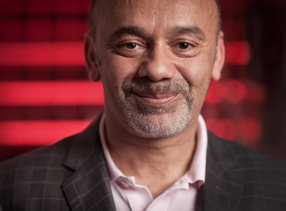 Louboutin: wants to get his hands on the Pope's feet