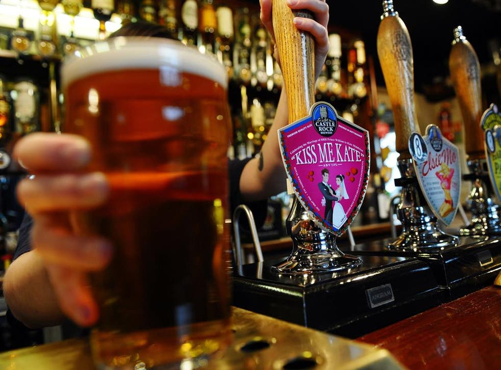 Under new rules, a man of average build may not be able to consume even one pint and drive home