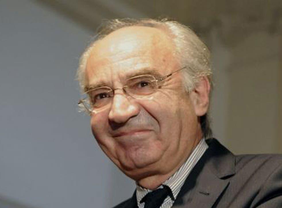 Former head of the Vatican bank Ettore Gotti Tedeschi