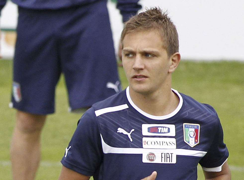 Domenico Criscito: Italy's first-choice left-back pulled out of the squad for the European Championship