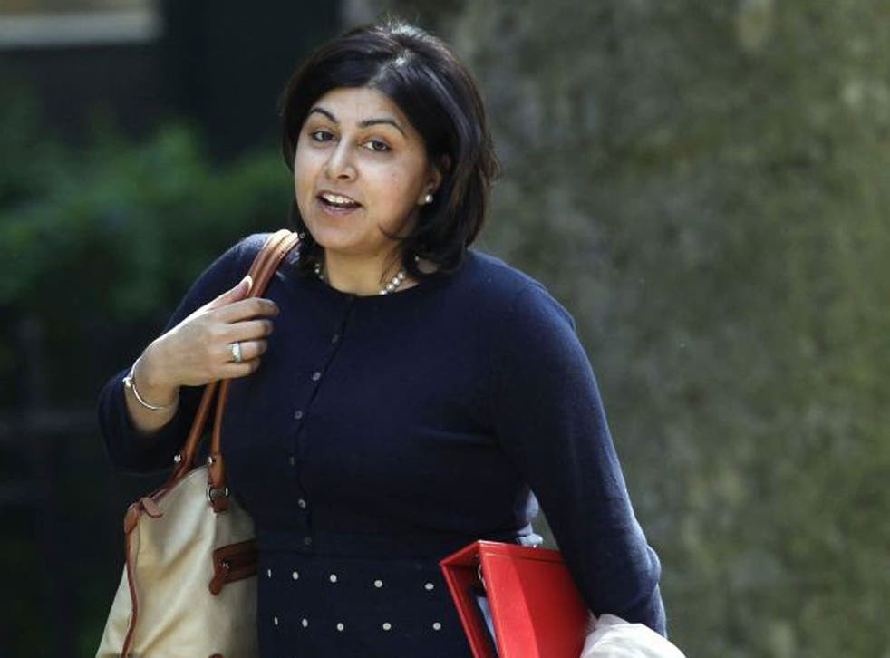 Baroness Warsi switched from Leave to Remain