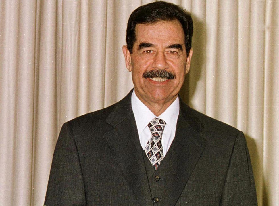 Saddam Hussein finished his last novel the day before the US army invaded Iraq